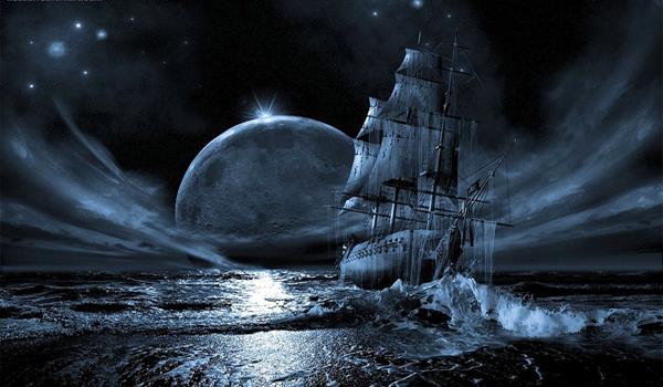il veliero di mezzanotte