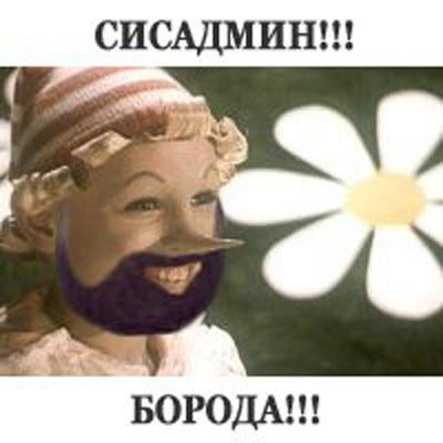 Сисадмин бородач