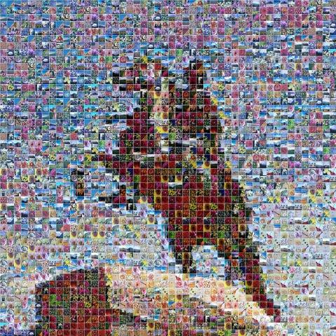 Мозайка Петр 1