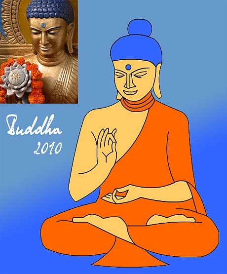 Перерисовка Будды