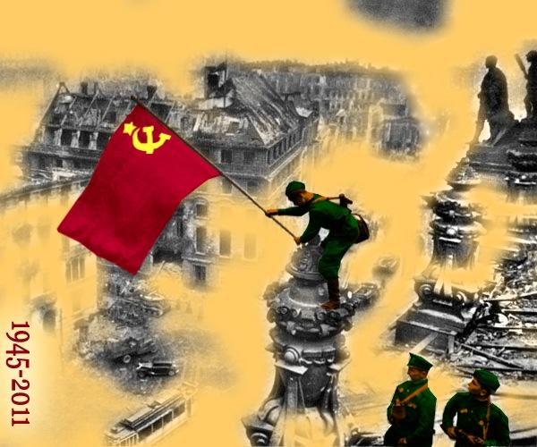 С Днем Победы! Документальное фото раскрасил сам.