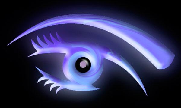 Вариант 2 необычного глаза