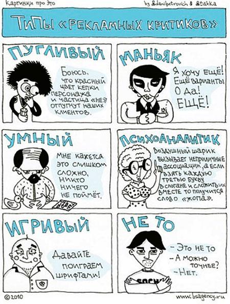 Типы критиков